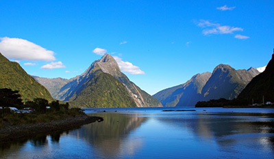 Mitre Peak Milford Sound Kalandra Study Tours NZ
